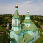 Невель фото Церковь Сошествия Святого Духа. Плиссы