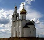 Стуколово. Церковь Владимира равноапостольного. Белый лебедь