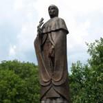 Памятник Ефросиньи Полоцкой. фото