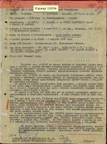 Г.Н. Кухарев. Герой Советского Союза. Невель