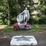 Воинское захоронение ул. М.Маметовой. Невель. фото