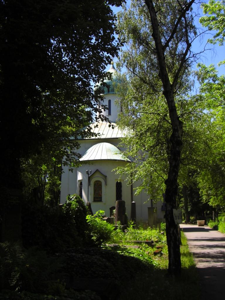 Памятник Ольшанка Храм Прага фото