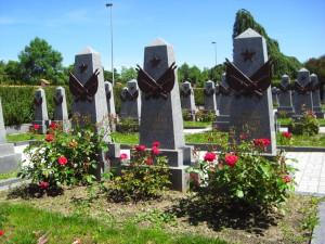 Памятник Ольшанка захоронение Прага фото