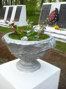 Воинское захоронение пл. М.Маметова Невель фото