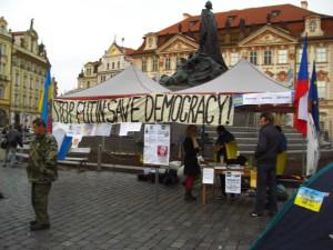 Евромайдан Прага 2014