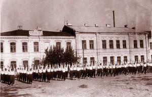 пл Ленина Невель фото 1951