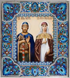 Святые князья Петр и Феврония