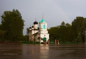 Невельская Свято-Троицкая церковь фото Брудова