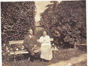 Валентин Павлович и Вера Алексеевна Скачевские 1937
