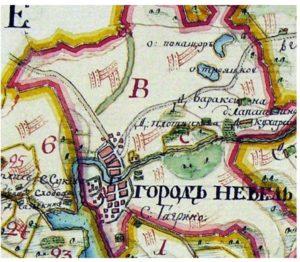 Генеральный план межевания Невельского уезда