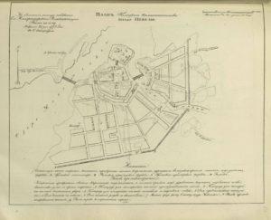 План Полоцкого Намстничества городу Невелю 1778 год
