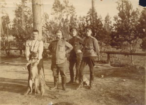 Штабс-капитан К.Е.Шильдер. 1915 год