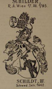 Герб рода Шильдер. Шильдер III