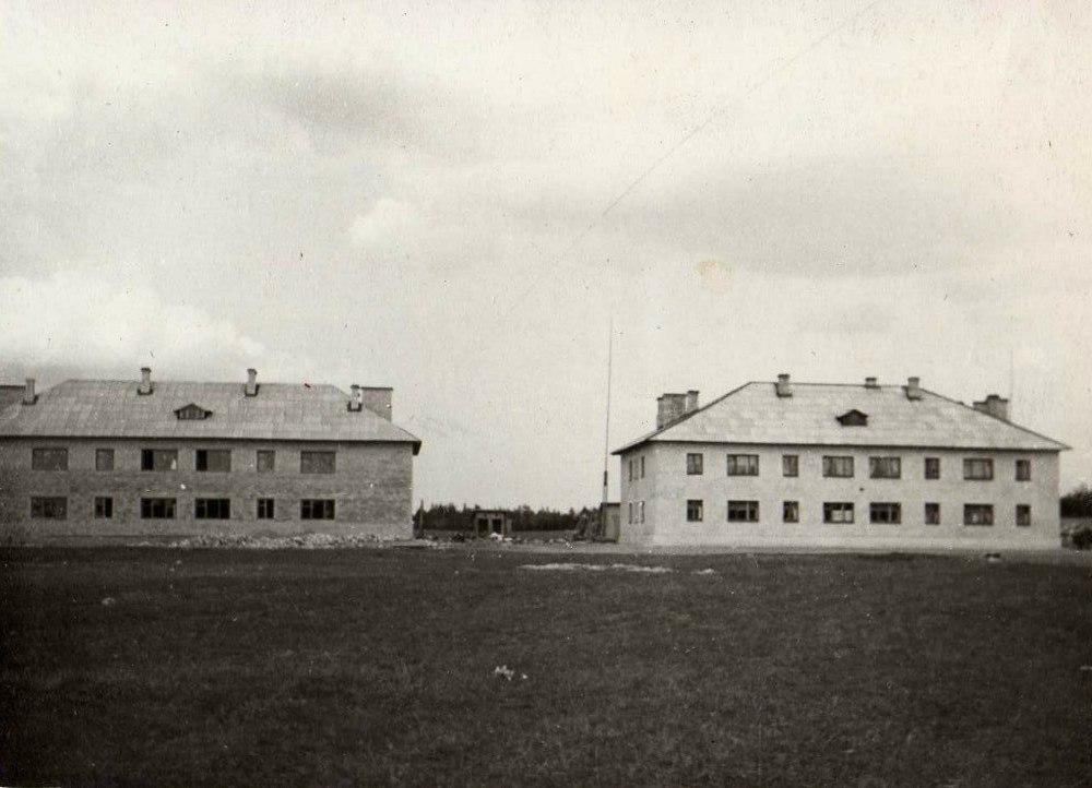 Начало строительства жилых домов для рабочих совхоза