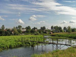 Старый мостик Невель фото