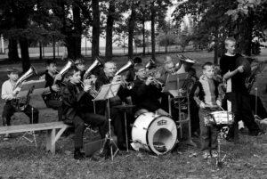 Духовой оркестр. Фото Л. Кузьменко
