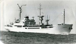 Переоборудованное судно Невель