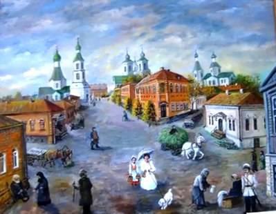 Картина Бржушкевич Невель