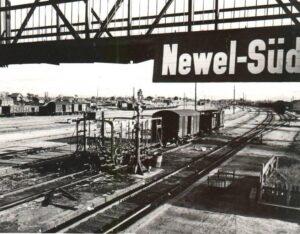 Невель жд вокзал 1943 фото