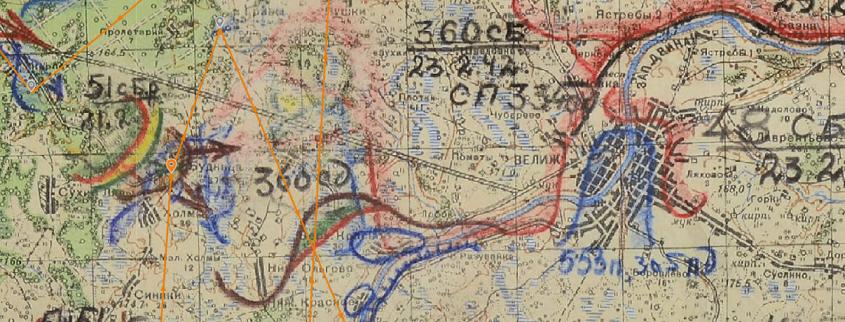 360 сд Невельская карта