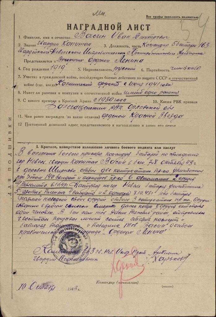 Васин Иван Дмитриевич