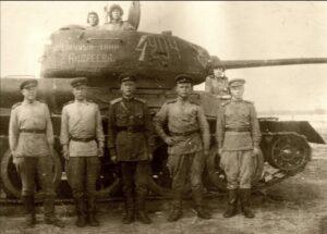 Андреев личный танк Невель