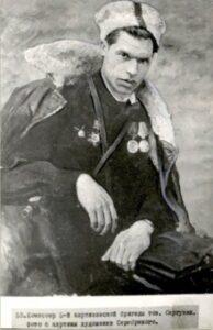 Сергунин И.И. Невель партизан