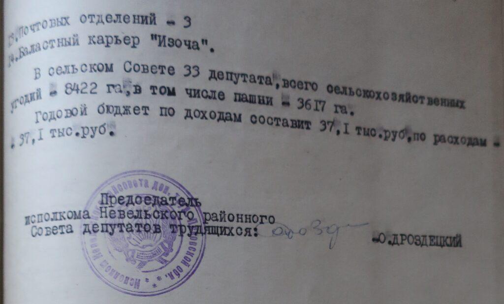 Изочинский сельсовет