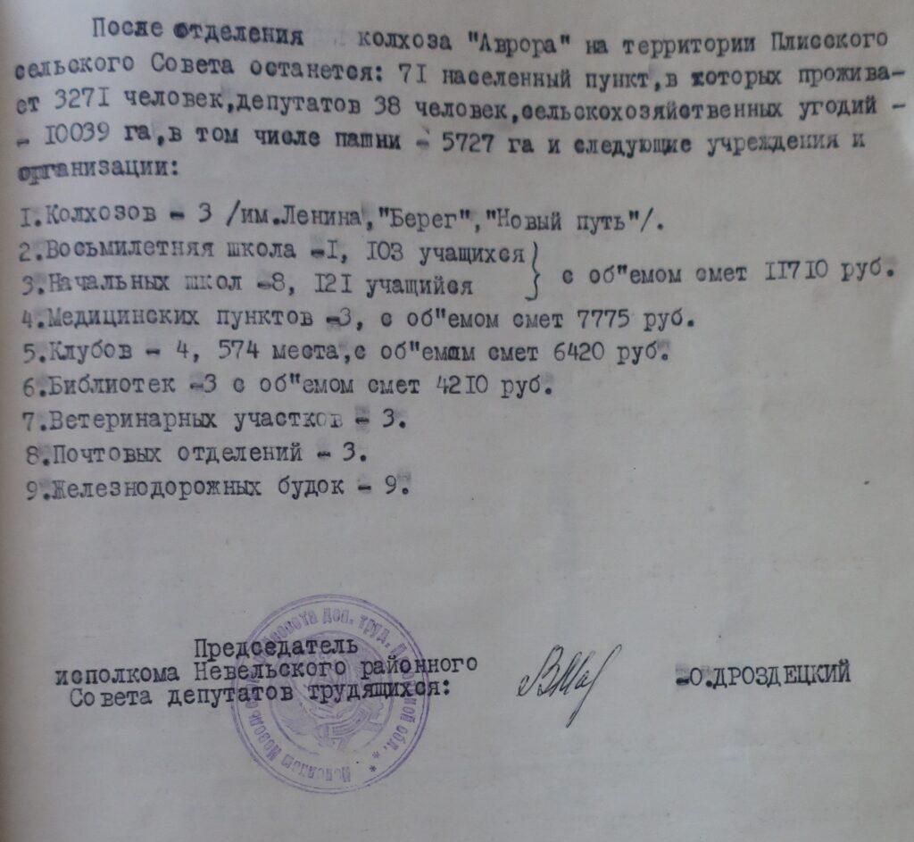 Плисский сельсовет